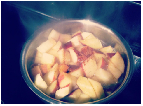 apples in pot 1