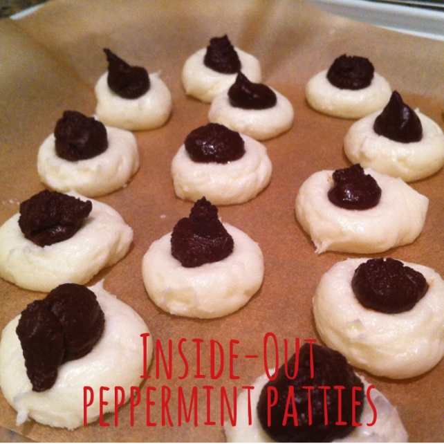 inside out peppermint patties