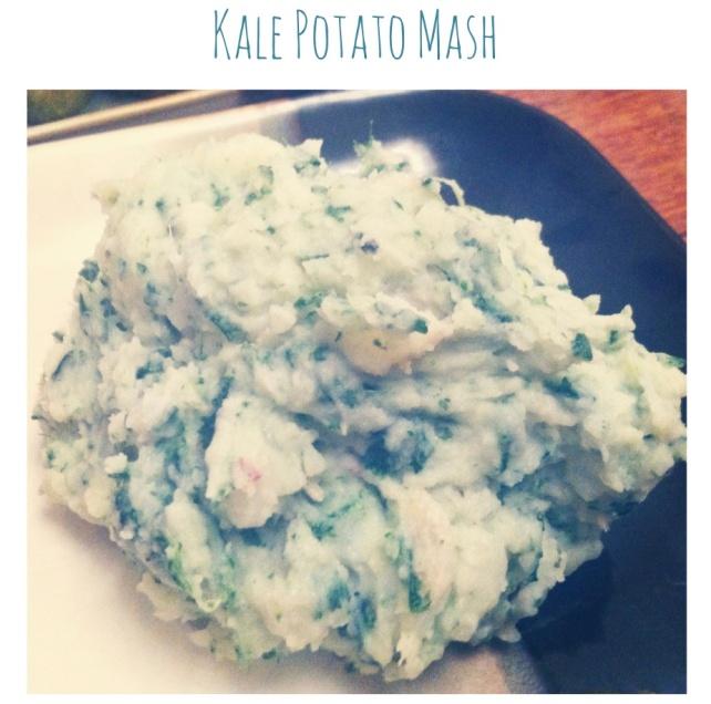 kale potato mash title