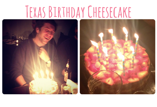 texas birthday cheesecake