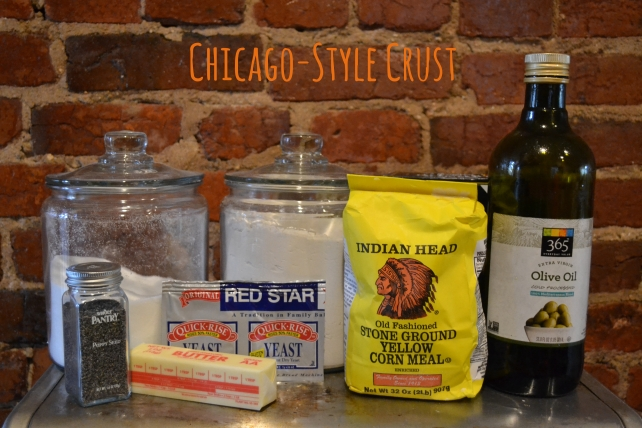 Chicago Style Crust Ingredients