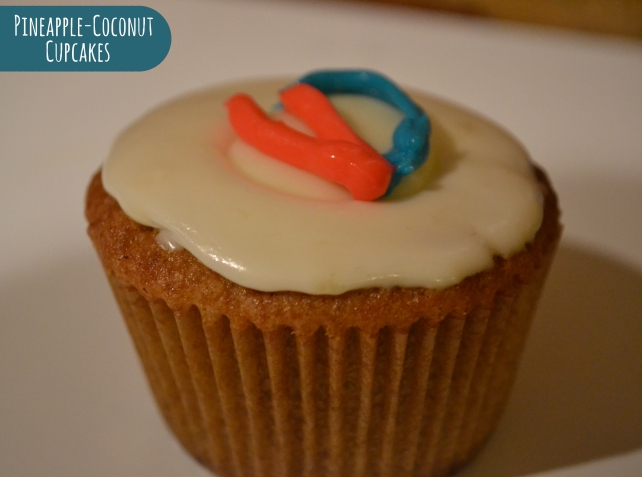 Coconut Cupcakes Title