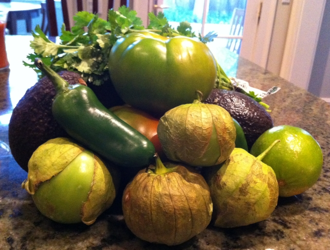 Ninfa's Green Sauce Ingredients