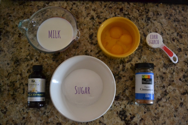 Custard Ingredients