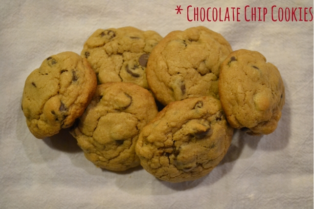 Chocolate Chip Cookies Hero