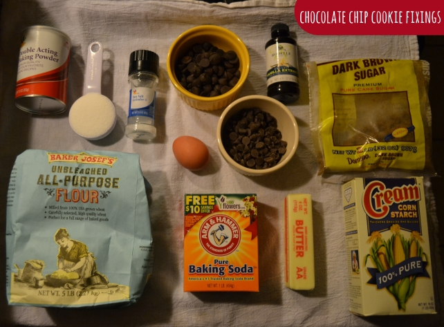 Ingredients_ChocChip cookies