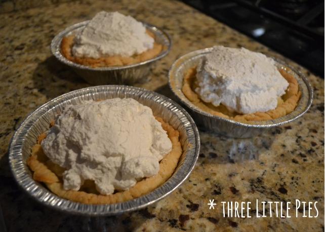 three little pies