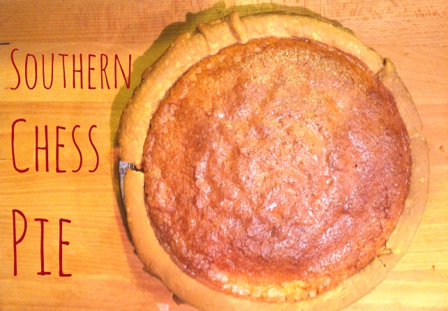 title page southern chess pie